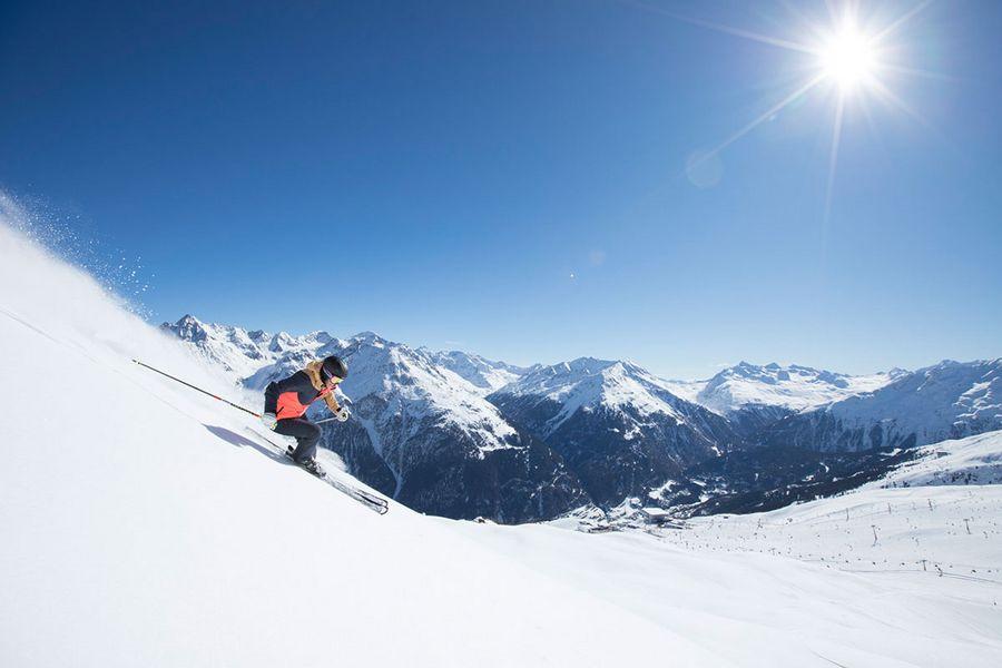 Premium skiing holidays in Ötztal