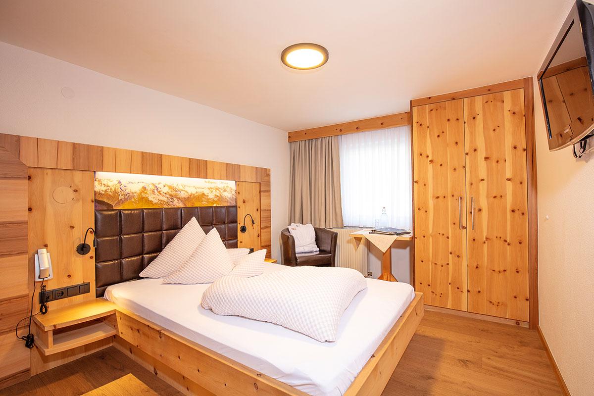 Hotel Alpenblick Huben Einzelzimmer